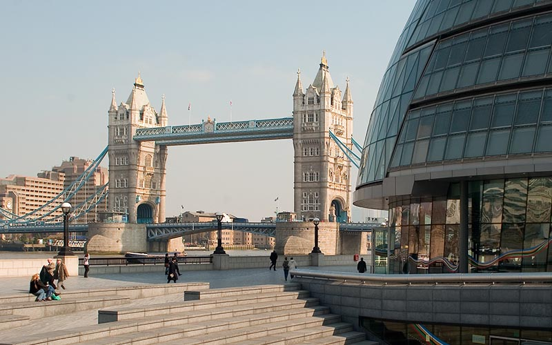 London Bridge and London City Hall