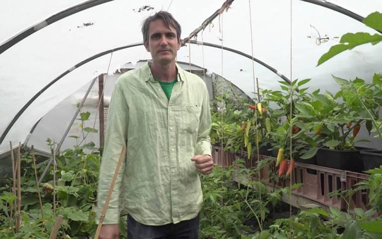 Dr Ilan Adler, founder of EcoNomad Solutions Ltd