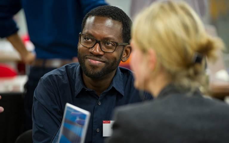 UCL academics at a workshop