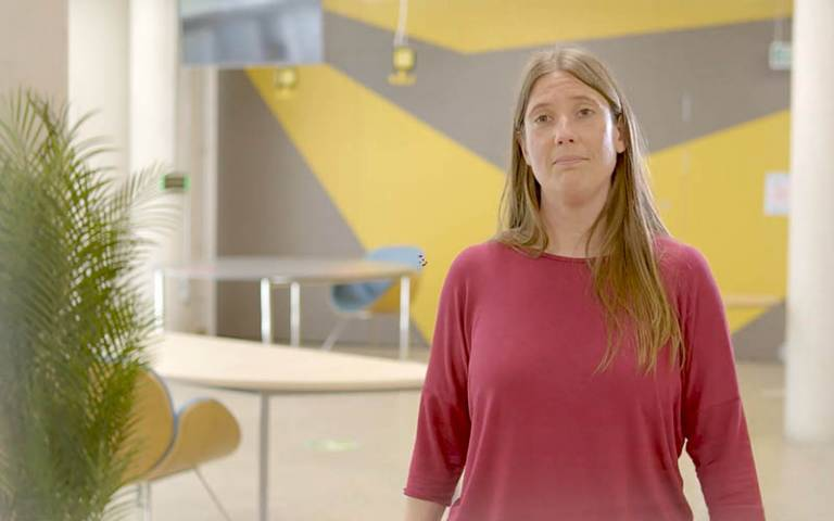 Dr Ruth Weir, Entrepreneurship Advisor at UCL