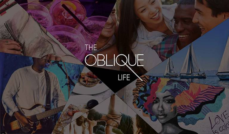 Collection of images showing the types of events organised by The Oblique Life