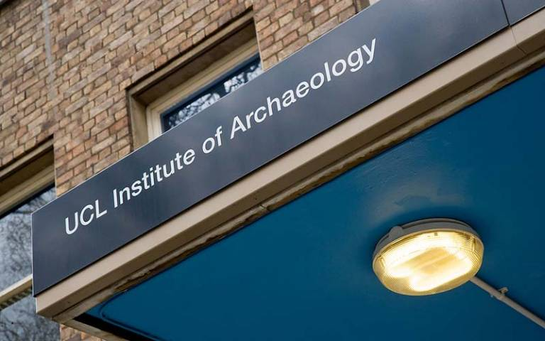 Photo of the Institute of Archaeology building at UCL