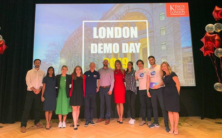 UCL startups at London Demo Day 2019