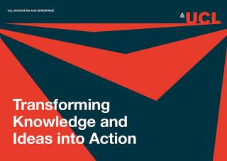 Cover of the UCL Innovation and Enterprise Strategy 2016-2021