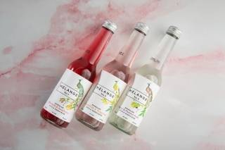 A selection of craft alcoholic sodas by Mélange Drinks