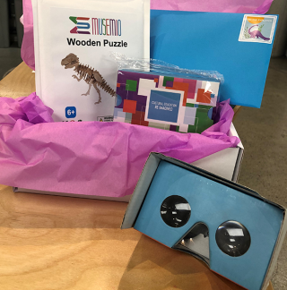 Box of Musemio's products