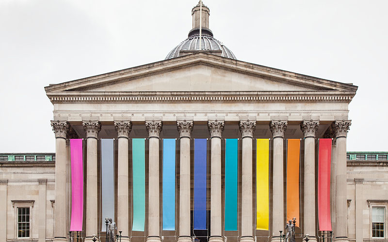 Main entrance to UCL
