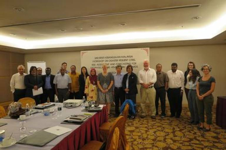 Workshop on Disaster Resilient Cities 1
