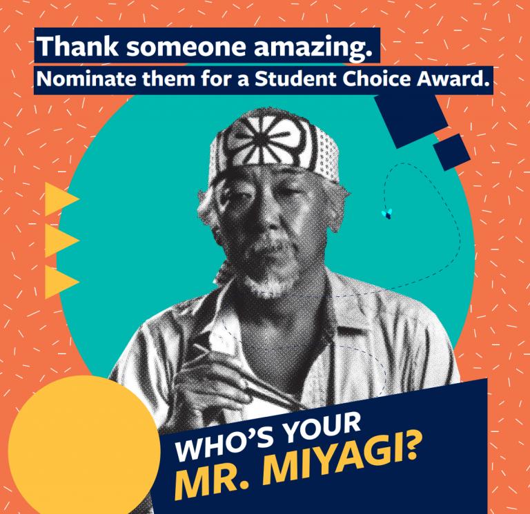 student choice award 2019