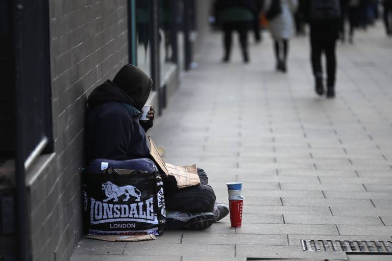 Picture of homeless