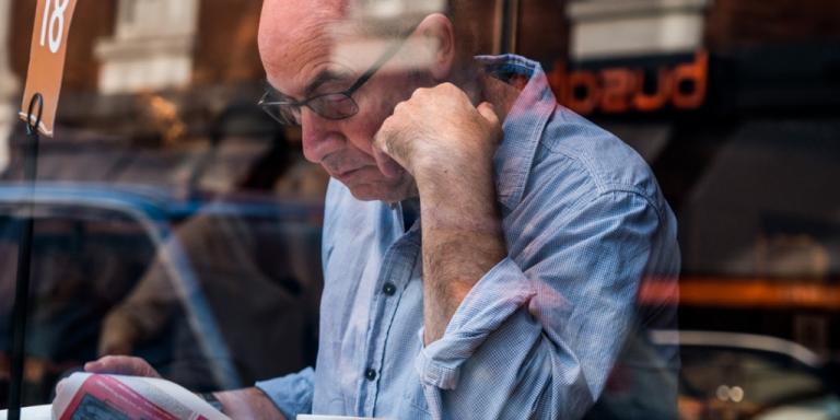 Older male worker