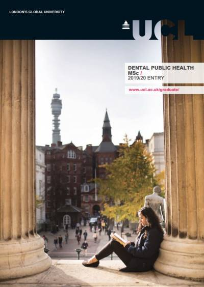 MSc Dental Public Health Prospectus