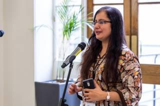Madiha Sajid speaking