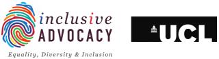 inclusive advocacy logo
