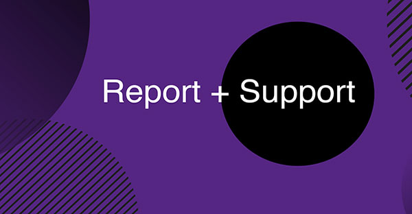 Report and Support logo