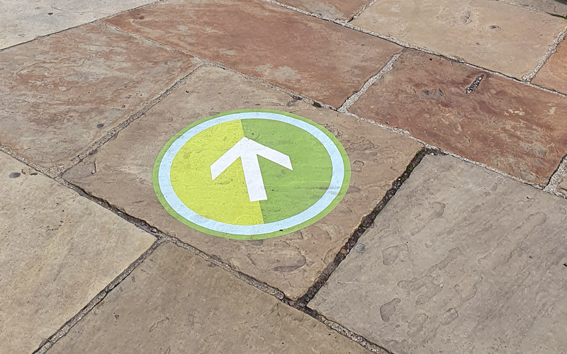 Accessible walking guides