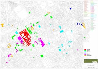 AFM Zone Map - All Bloomsbury campus