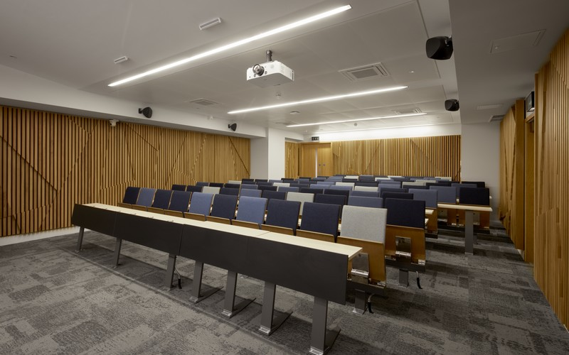 UCL Venues Torrington Place Training Centre Lecture Hall Front View B17