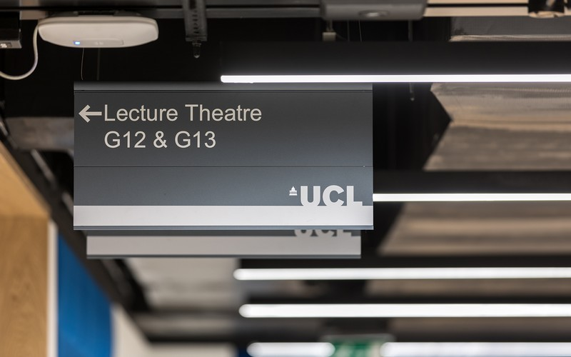 Signage and Wayfinding at UCL image