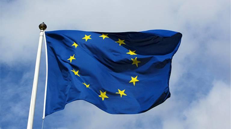 Photo of EU flag