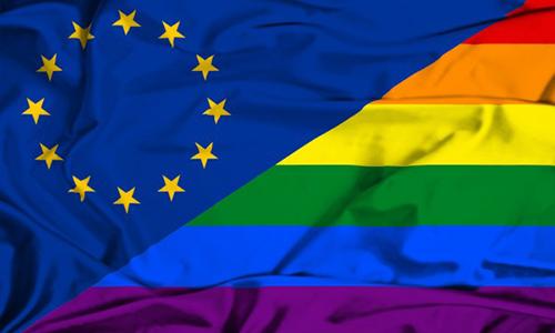 LGBT EU Flag