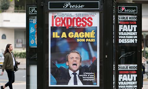 Macron Poster