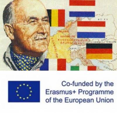Jean Monnet and Erasmus Plus logos