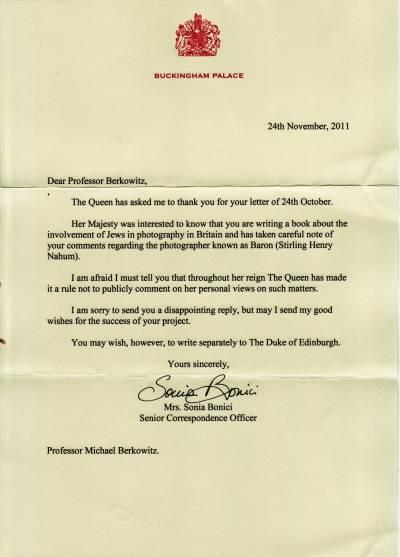 Queen letter