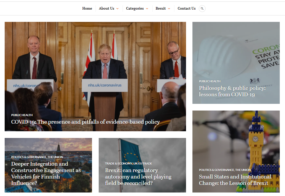 UCL Europe Blog Homepage
