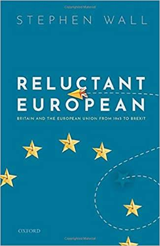 Cover of Stephen Wall's book, Reluctant European