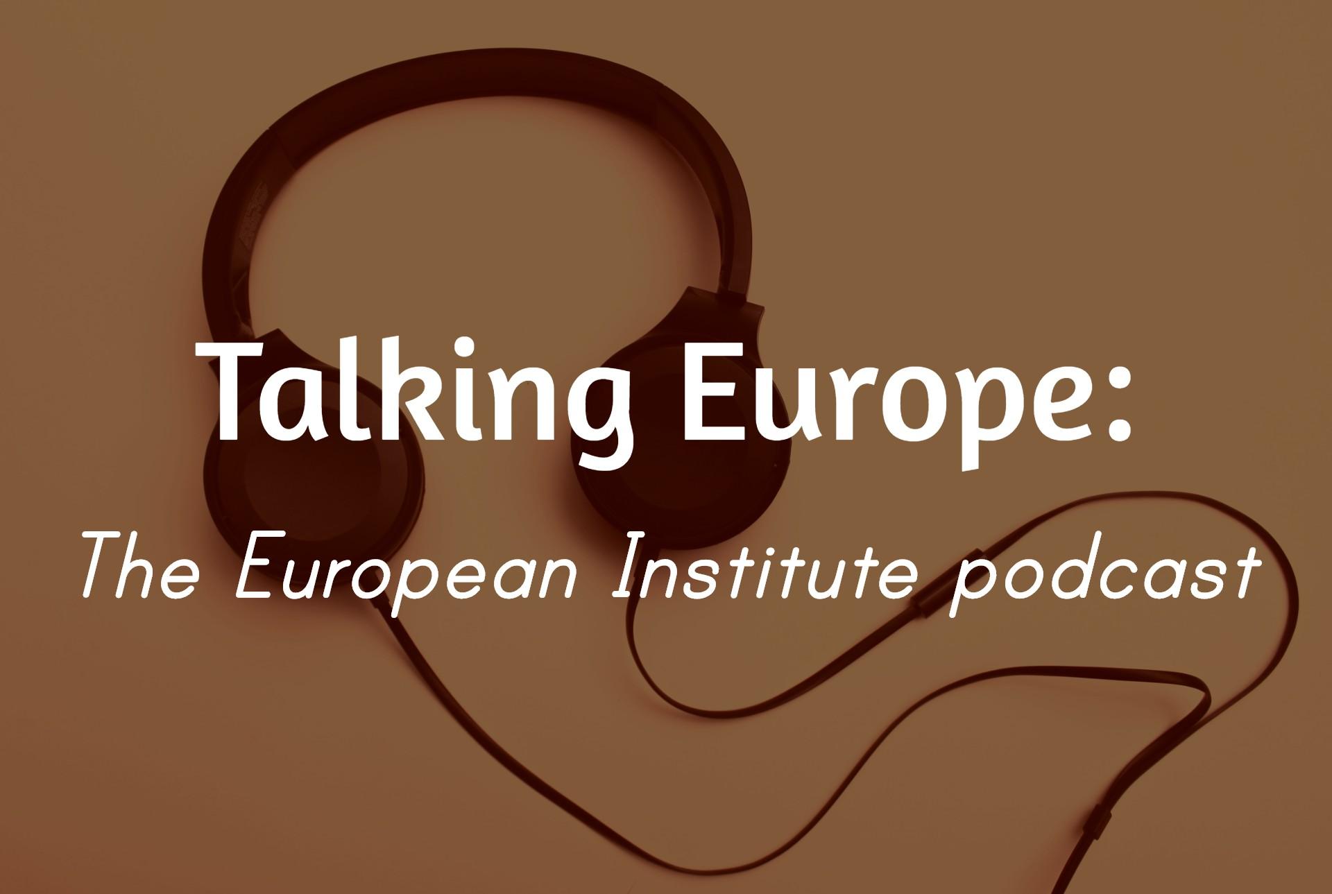 Talking Europe podcast logo