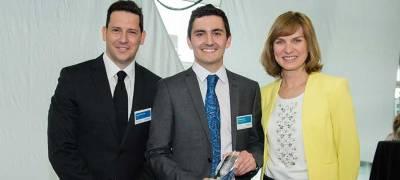 Male Undergraduate of the Year Award winner 2015 - Harrison Dent