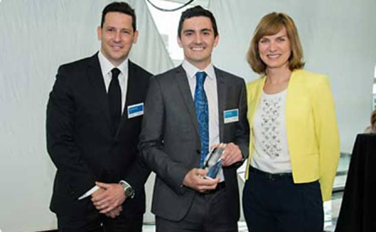 UCL ESPS student wins Undergraduate of the Year, April 2015