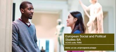 Download European Social and Political Studies BA brochure