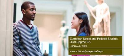 European Social and Political Studies: Dual Degree BA brochure