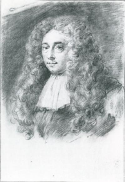 Portrait of Constantijn Huygens Jr