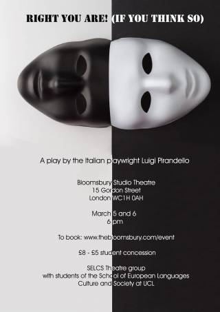 theatre project poster