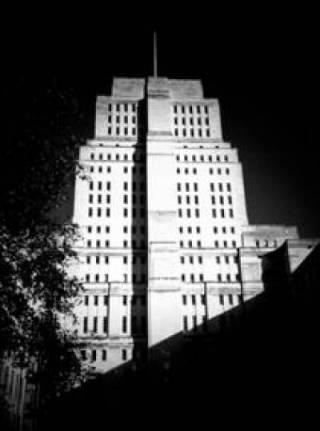 Senate House black and white