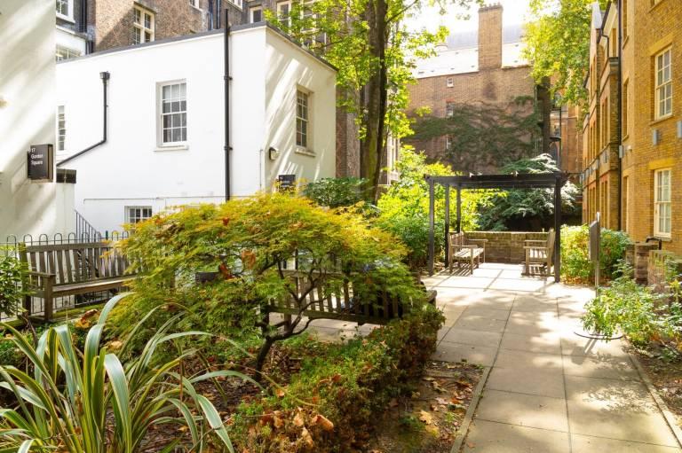 Gordon Houses garden
