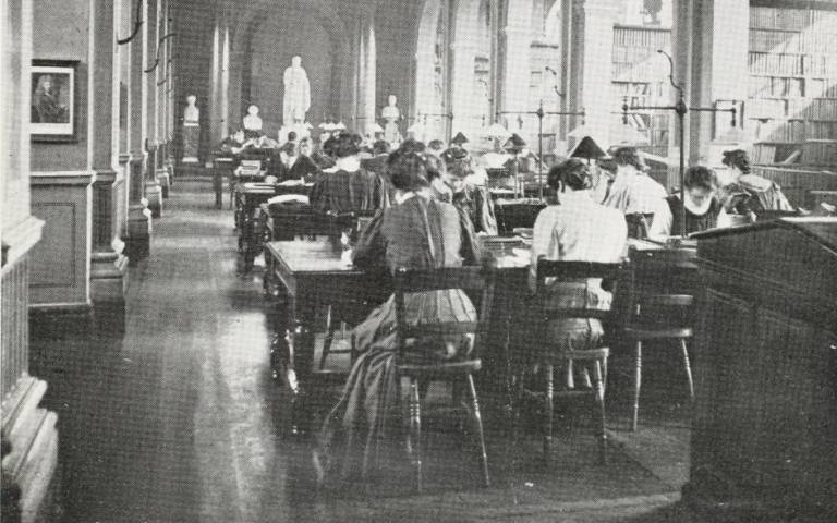 UCL library in the past