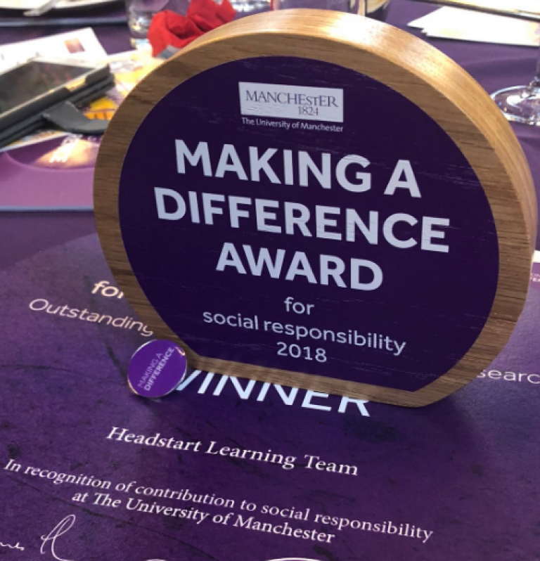 Making a Difference Award