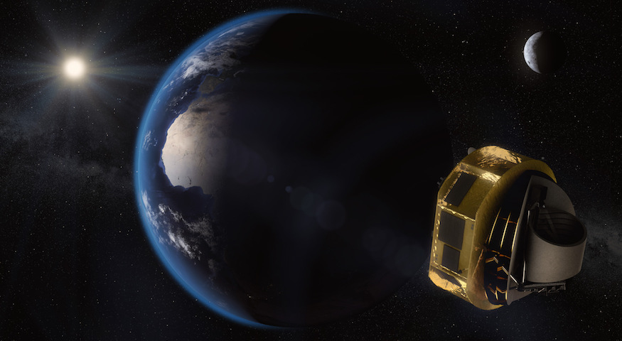 Artist's impression of ARIEL in space