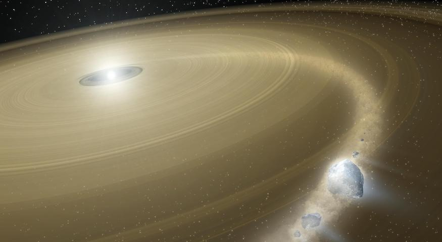 Research - Exo-terrestrial planetary systems [Image credit: NASA/JPL-Caltech]
