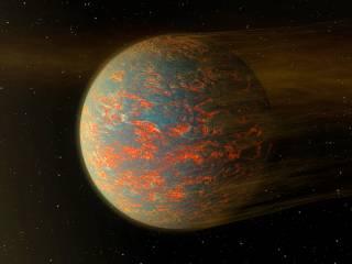 Artist's impression of 55 Cnc e. Credit: NASA/JPL-Caltech