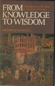 From Knowledge to Wisdom 1st edition