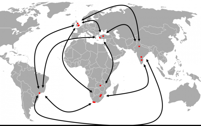 ICGNMD map