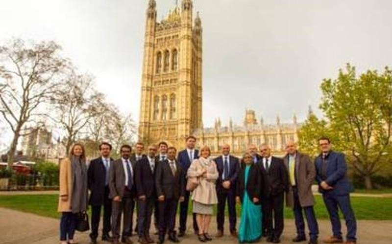 ICGNMD PIs outside House of Lords