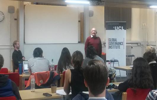 Chris Sidoti Lecture at the GGI