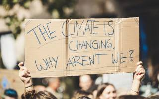"""Climate Protest: """"The Climate is Changing Why Aren't We?"""""""