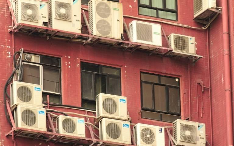 Air conditioning units in Hong Kong